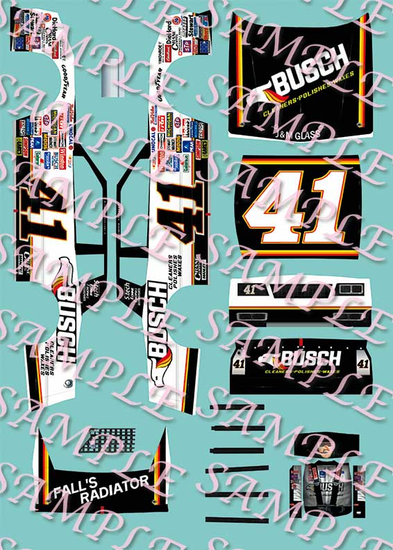 1//25th  Waterslide Decal #43 Bubba Wallace Black Lives Matter 1////24th