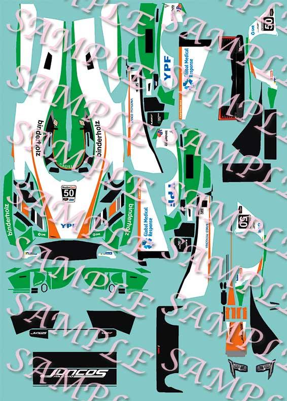 Cheetah Le Mans 1977 N°32 decals 1//43