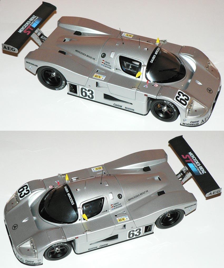 Decals 1:18 Mercedes Benz CLK-LM 1998 FIAGT No1 and Le Mans No36