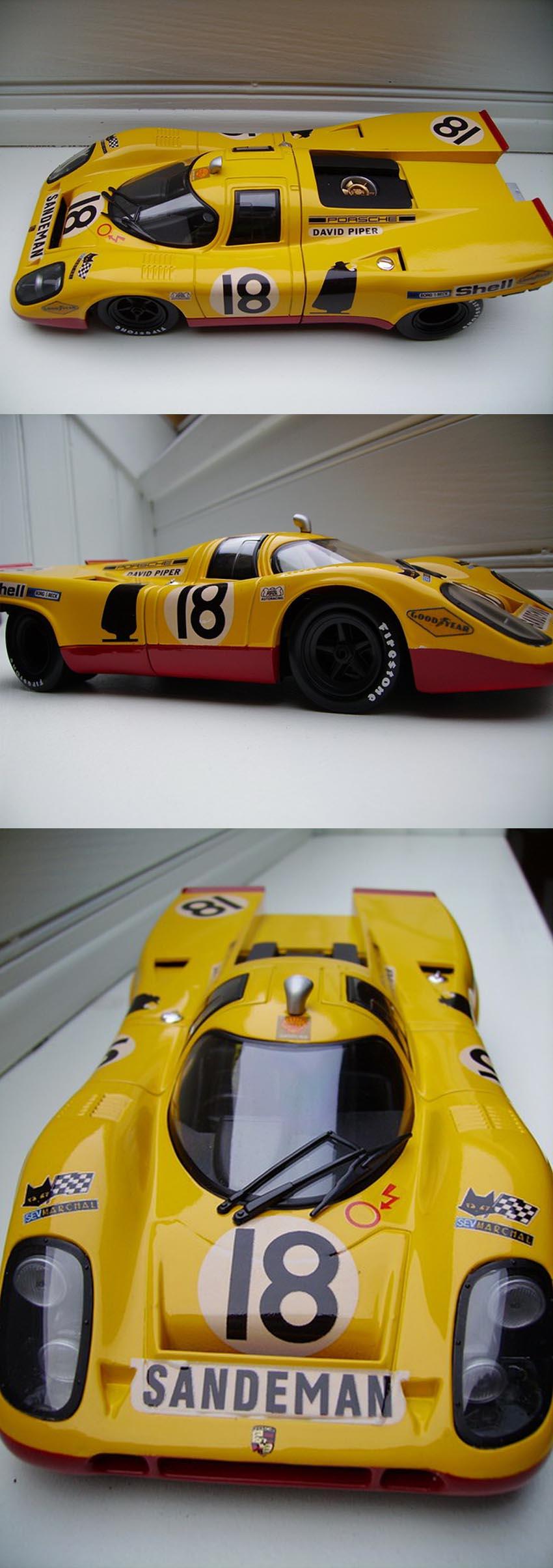 Calcas Lola T70 MkIII Le Mans 1968 1:32 1:43 1:24 1:18 64 87 slot decals